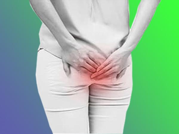 Bệnh trĩ ngoại gây ngứa ngáy, sưng đỏ vùng hậu môn.