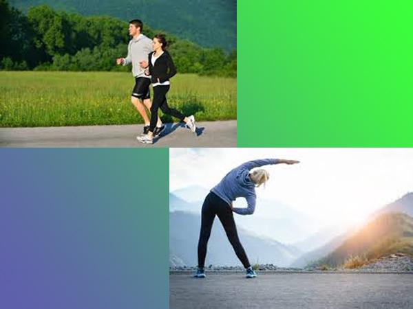 Phòng bệnh trĩ ngoại bằng cách tập thể dục thể thao.