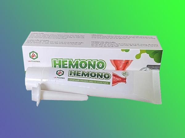 Gel bôi hỗ trợ điều trị bệnh trĩ Hemono
